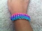 Triple Single Bracelet. Created February 14, 2014.
